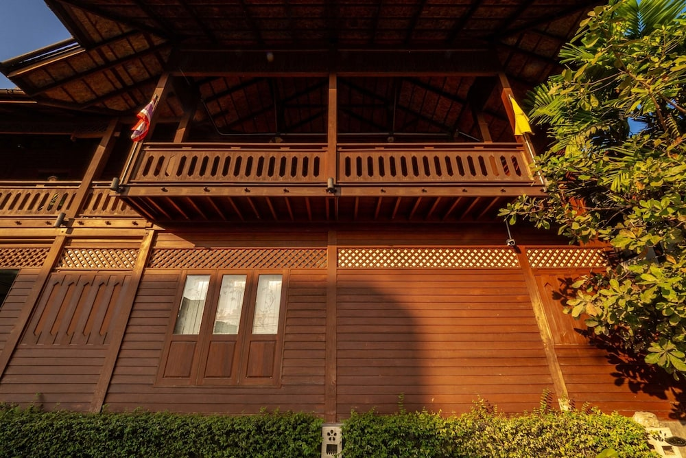 Exterior detail, Baan U Sabai Boutique House