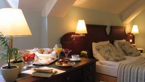 Een minibar, een kluis op de kamer, individueel gedecoreerd, gratis wifi