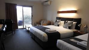 1 bedroom, Egyptian cotton sheets, down duvet, pillow top beds
