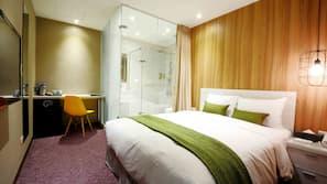 意大利 Frette 床單、高級寢具、Select Comfort 床墊、迷你吧