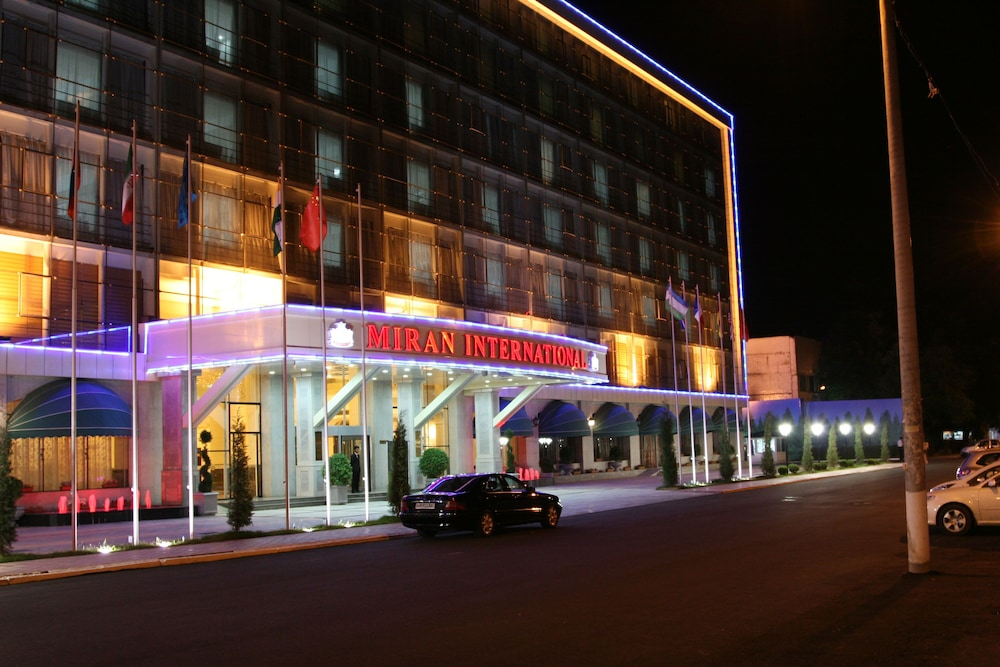 Front of Property - Evening/Night, Miran International Hotel
