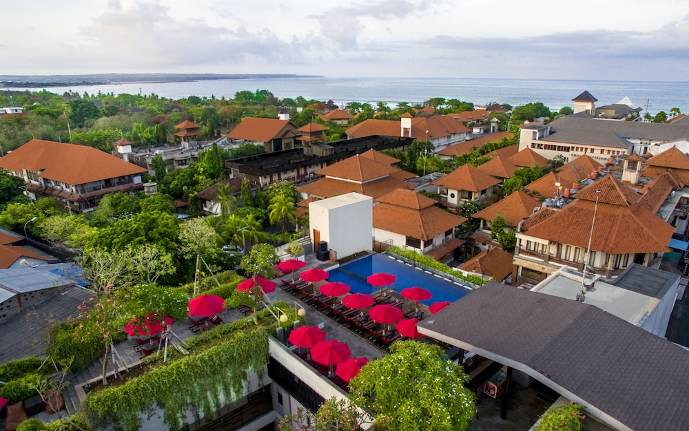 City View from Property, Swiss-Belinn Legian