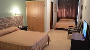 Ropa de cama de alta calidad, caja fuerte, wifi gratis y ropa de cama
