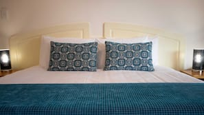 Premium bedding, in-room safe, soundproofing, iron/ironing board