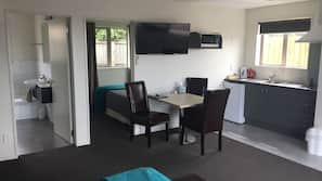 Soundproofing, iron/ironing board, free WiFi, linens