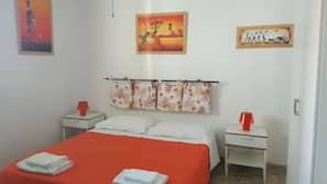 Desk, cribs/infant beds, free WiFi, linens