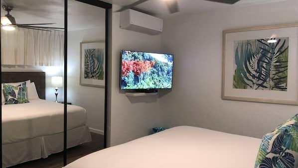 1 bedroom, in-room safe, iron/ironing board, travel crib