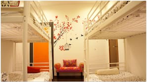 Individually decorated, blackout curtains, iron/ironing board, free WiFi