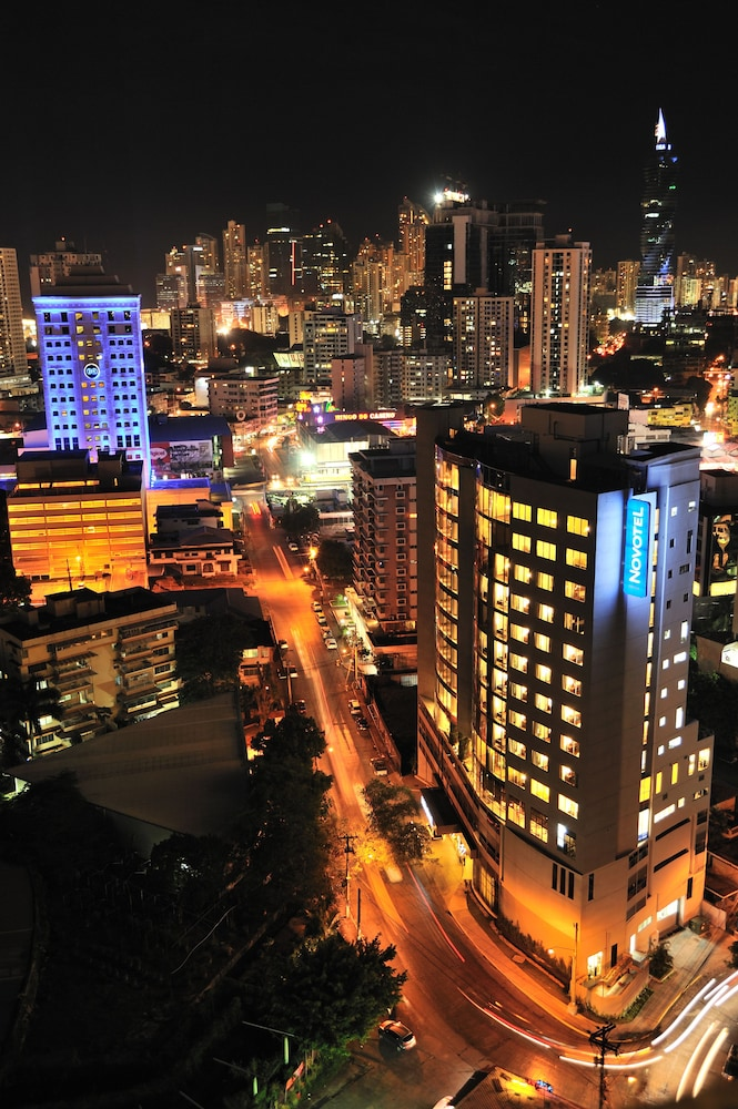 Aerial View, Novotel Panama City