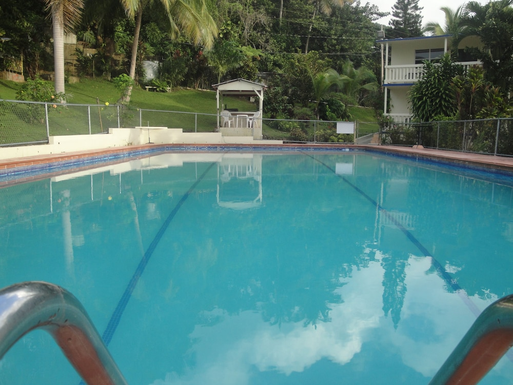Outdoor Pool, Hacienda Moyano