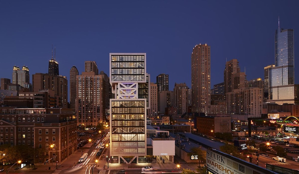 Aerial View, The Godfrey Hotel Chicago