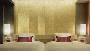 Premium bedding, in-room safe, free WiFi, bed sheets