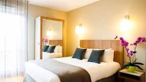 Ropa de cama de alta calidad y mobiliario individual