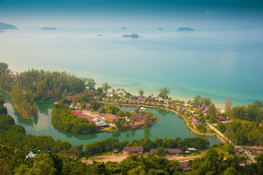 Aerial View, Klong Prao Resort