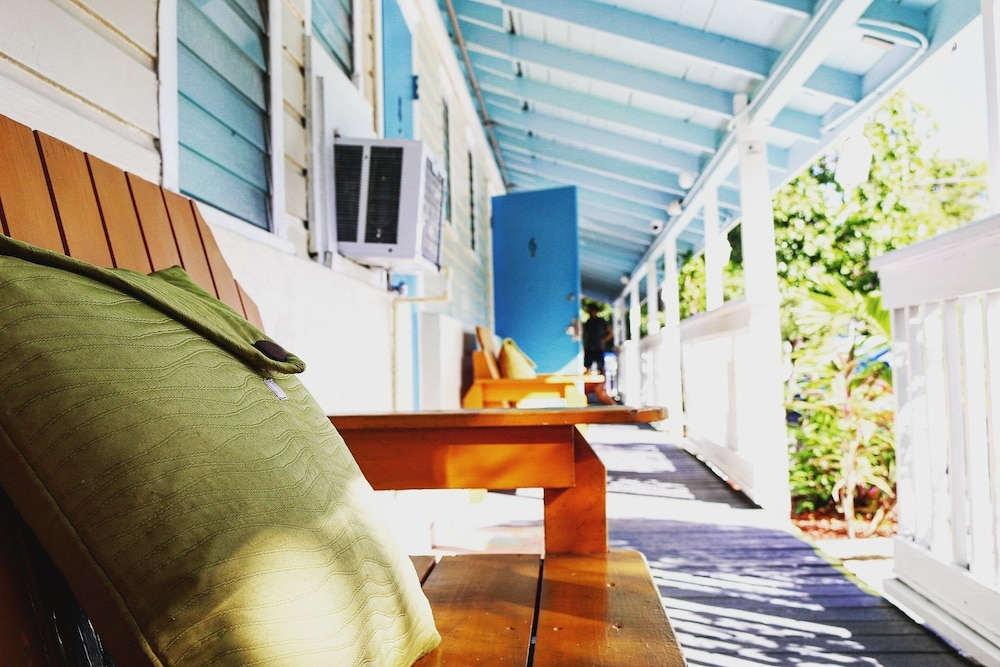 Porch, Seashell Motel & Key West Hostel