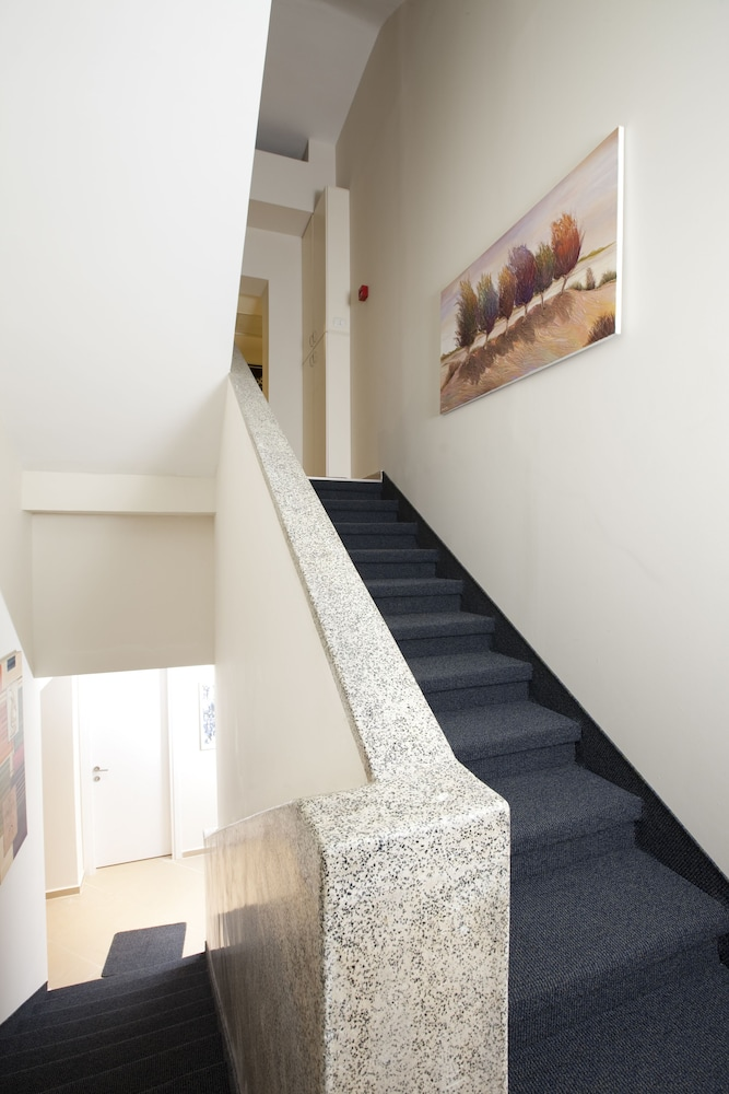 Staircase, Blue Sea Marble