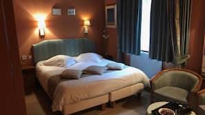 1 間臥室、埃及棉床單、高級寢具、設計自成一格