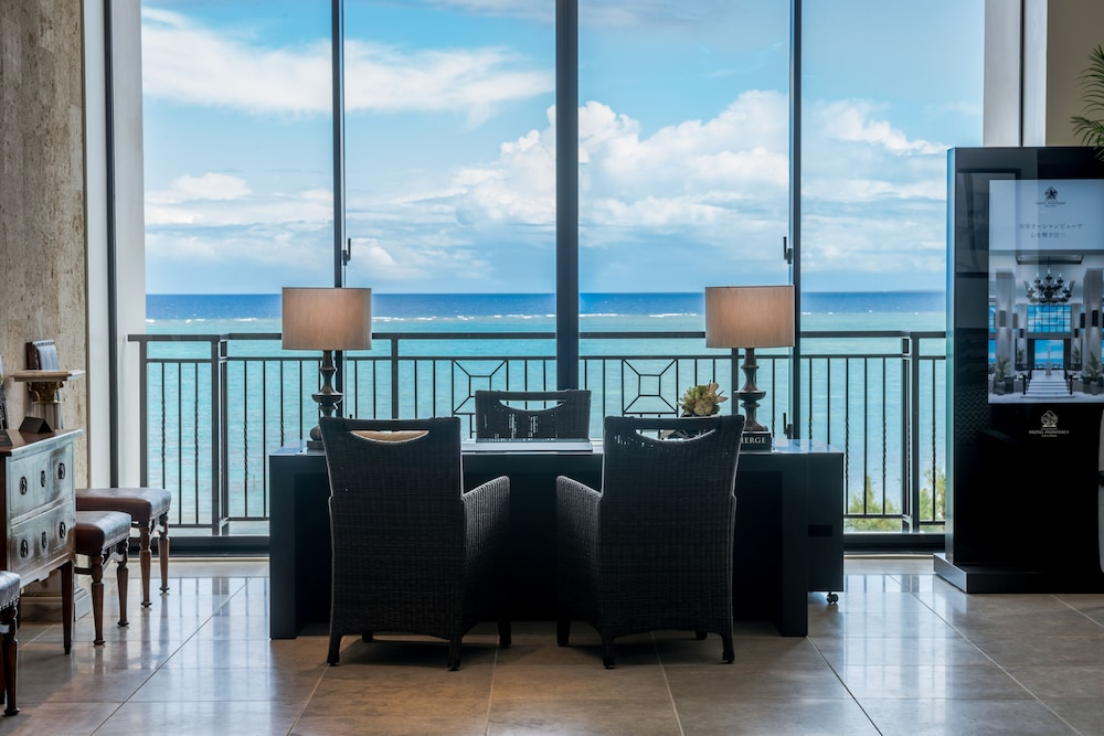 Lobby Sitting Area, Hotel Monterey Okinawa Spa & Resort
