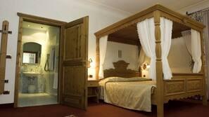 Hochwertige Bettwaren, Daunenbettdecken, Minibar, Zimmersafe