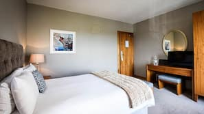 In-room safe, iron/ironing board, cribs/infant beds, free WiFi