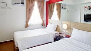 记忆海绵床垫、客房内保险箱、办公桌、免费 WiFi