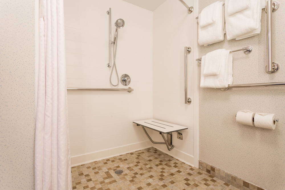Bathroom, Holiday Inn Express Hotel & Suites Goldsboro - Base Area