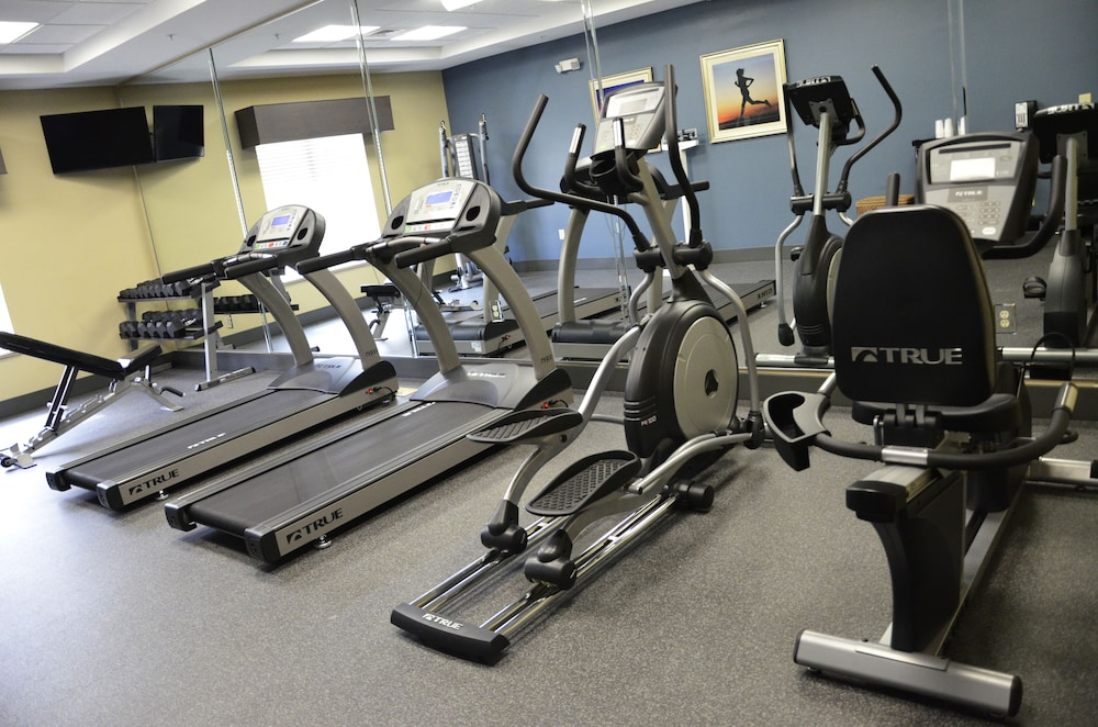 Fitness Facility, Holiday Inn Express Hotel & Suites Goldsboro - Base Area
