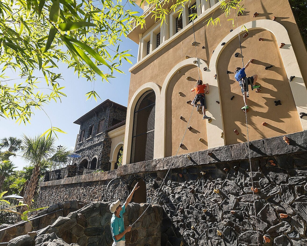 Outdoor Rock Climbing, Four Seasons Resort Orlando at WALT DISNEY WORLD® Resort