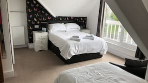 Individually furnished, free cots/infant beds, free rollaway beds