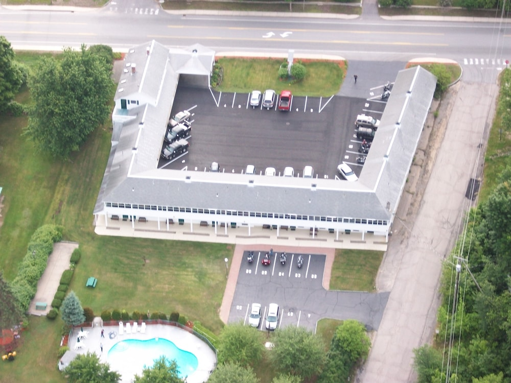 Aerial View, Briarcliff Motel