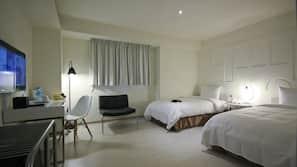 1 間臥室、高級寢具、書桌、隔音