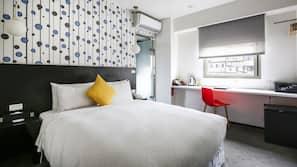 Down duvet, in-room safe, desk, free cots/infant beds