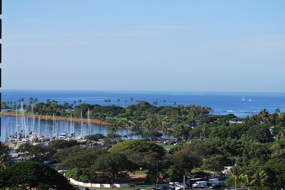 View from Property, Ala Moana Hotel by LSI Resorts
