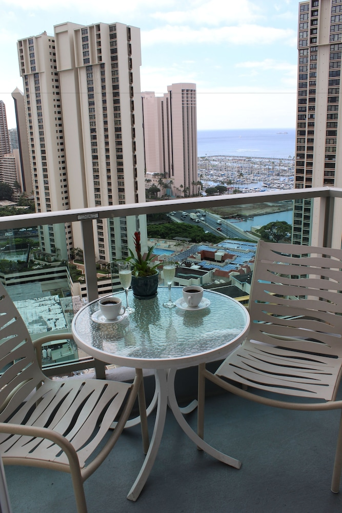 Balcony, Ala Moana Hotel by LSI Resorts