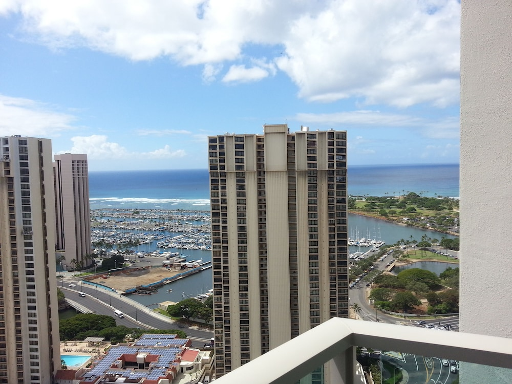 View from Room, Ala Moana Hotel by LSI Resorts
