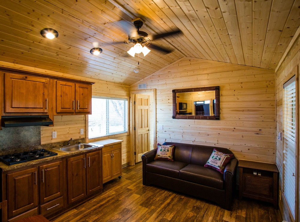 Living Area, Verde Valley RV & Camping Resort, a Thousand Trails Property