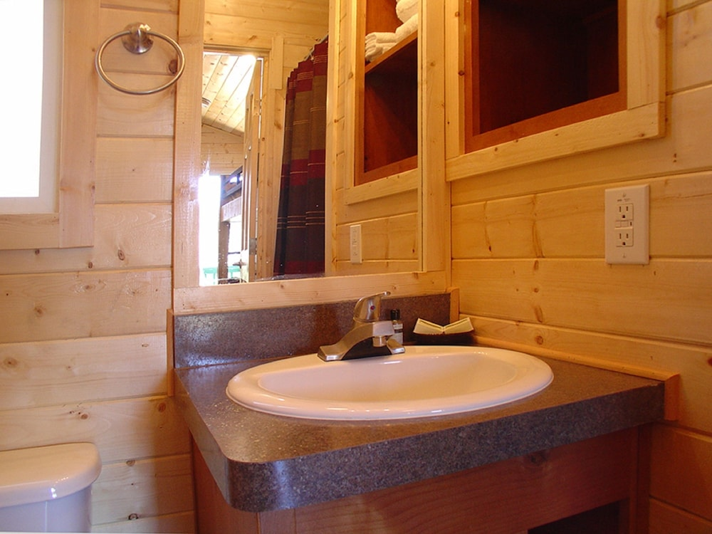 Bathroom Sink, Verde Valley RV & Camping Resort, a Thousand Trails Property