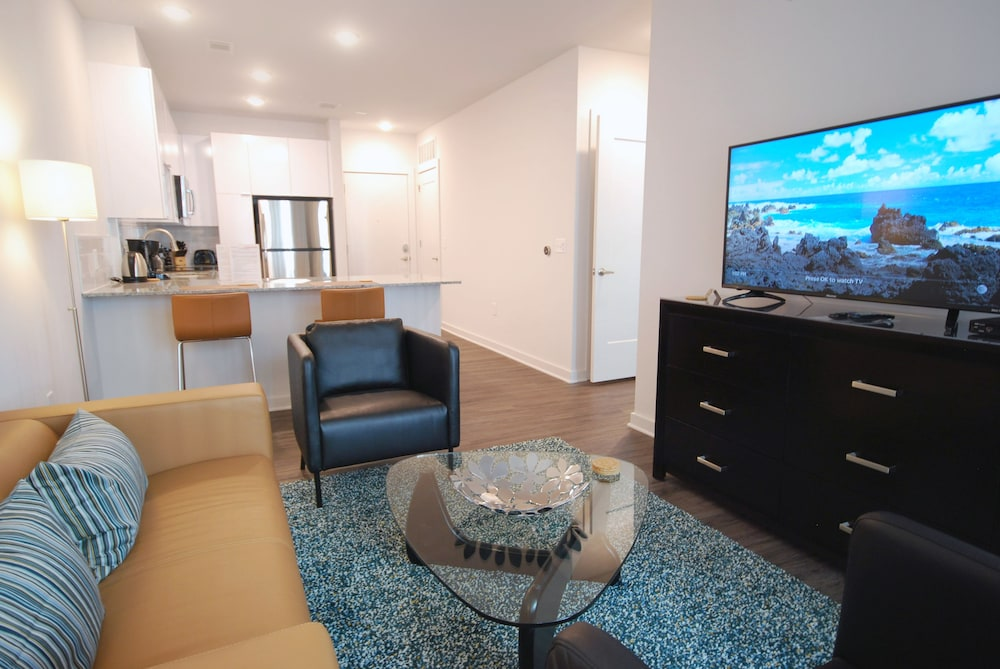 Living Room, BCA Furnished Apartments