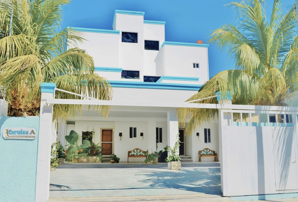 Front of Property, Corales Suites