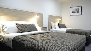 Premium bedding, pillow-top beds, minibar, individually decorated