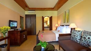 Minibar, in-room safe, blackout curtains, rollaway beds