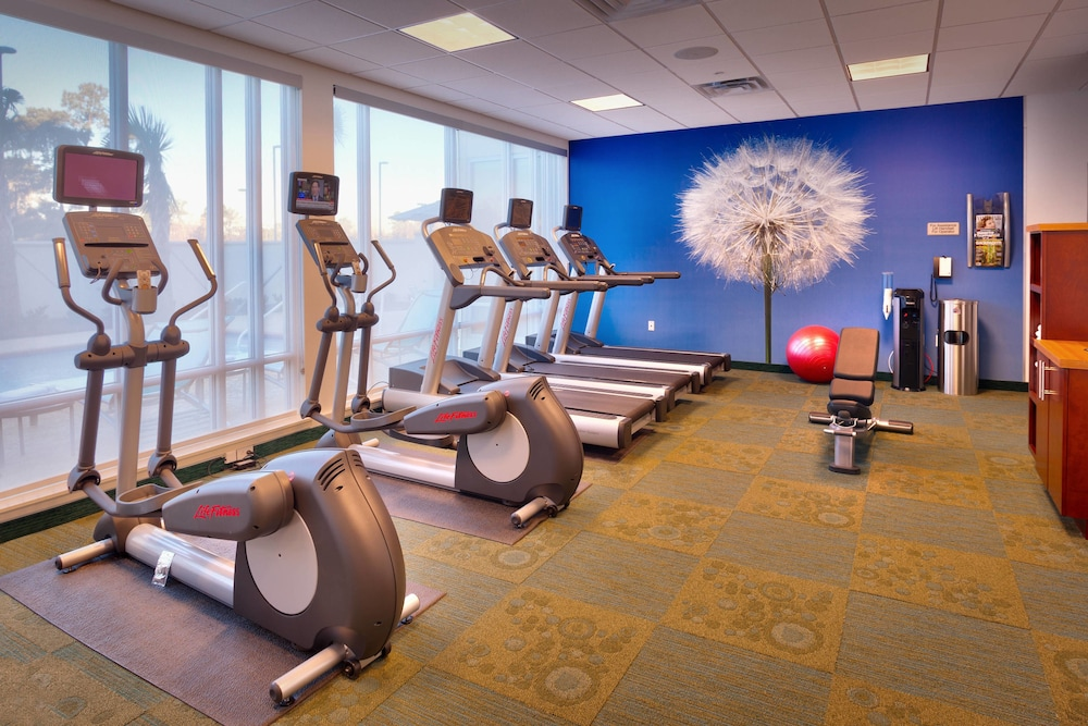 Fitness Facility, Springhill Suites Houston I-45 North