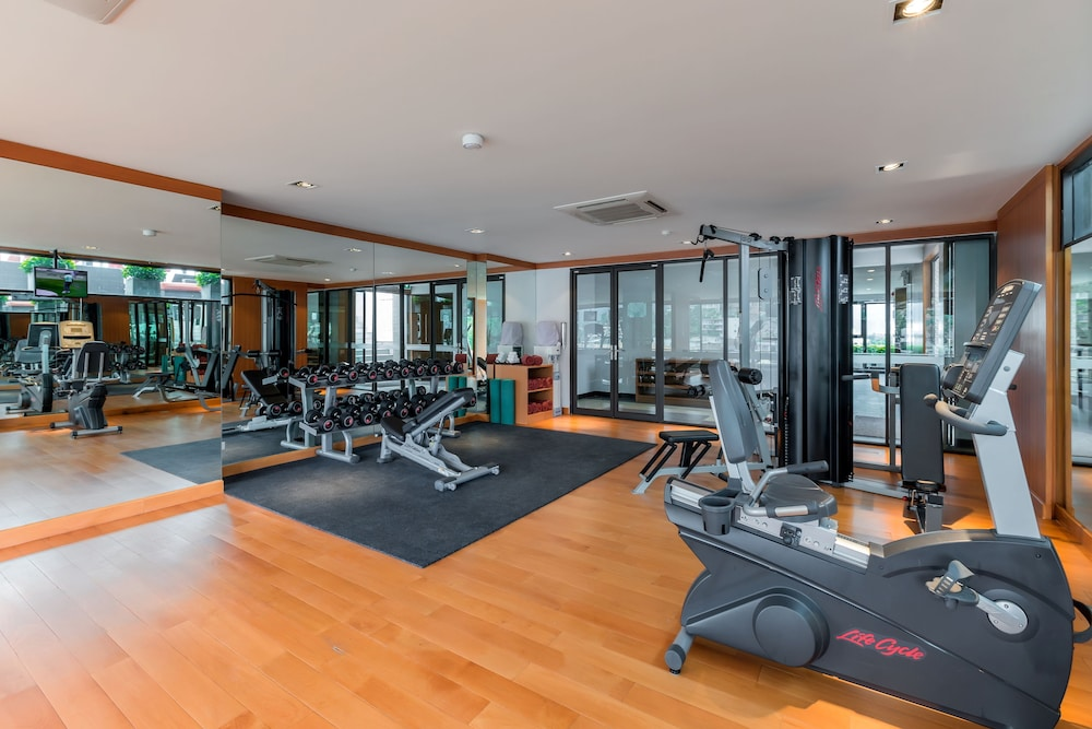 Gym, The Charm Resort Phuket