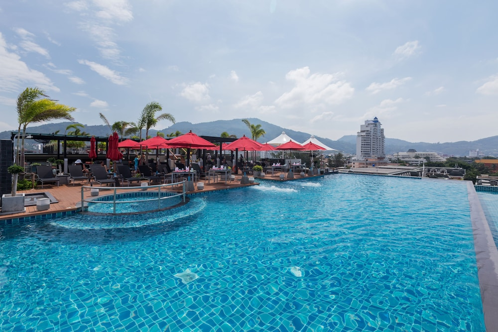 Outdoor Pool, The Charm Resort Phuket