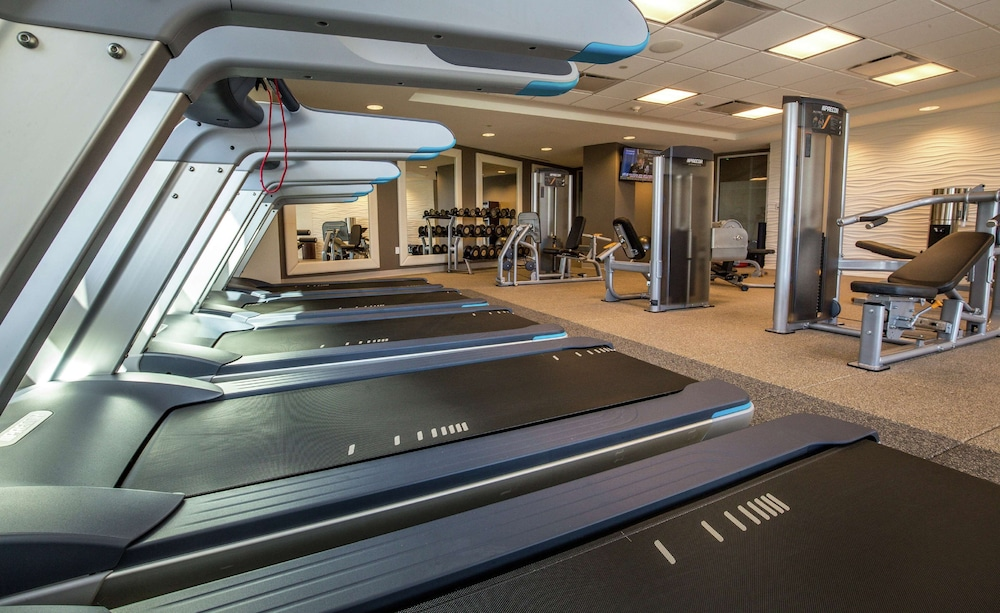 Fitness Facility, Hilton Dallas/Plano Granite Park