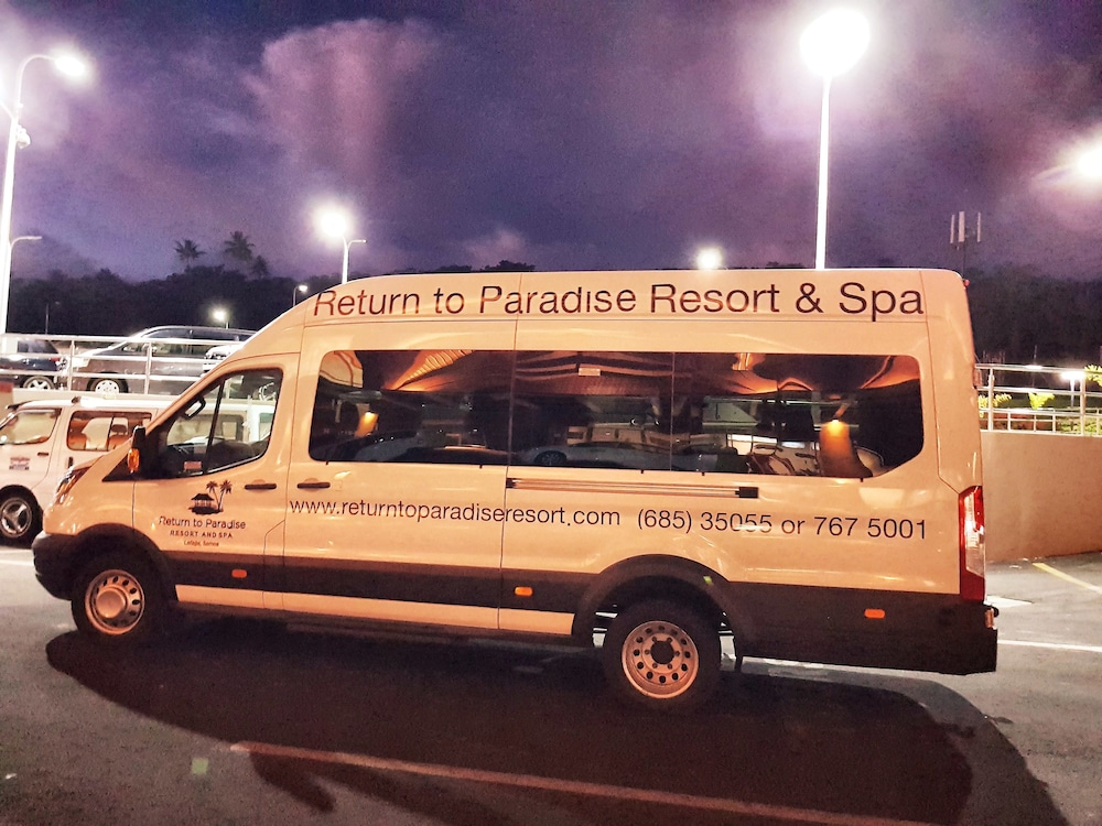 Airport Shuttle, Return to Paradise Resort and Spa