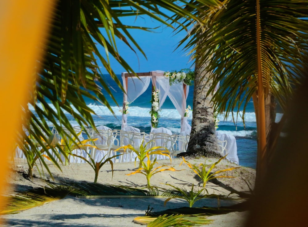 Outdoor Wedding Area, Return to Paradise Resort and Spa