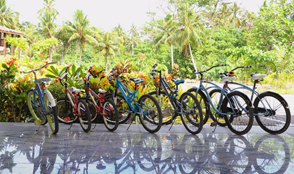 Bicycling, Return to Paradise Resort and Spa