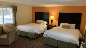 Individually furnished, blackout drapes, soundproofing