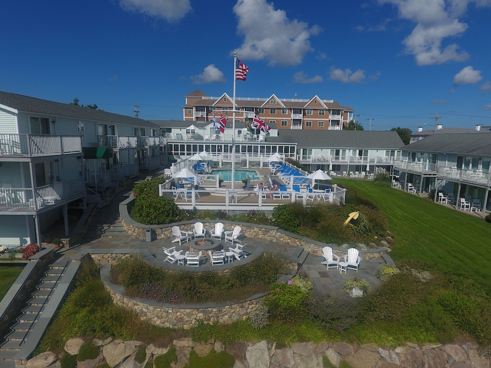 Aerial View, Anchor In Distinctive Waterfront Lodging